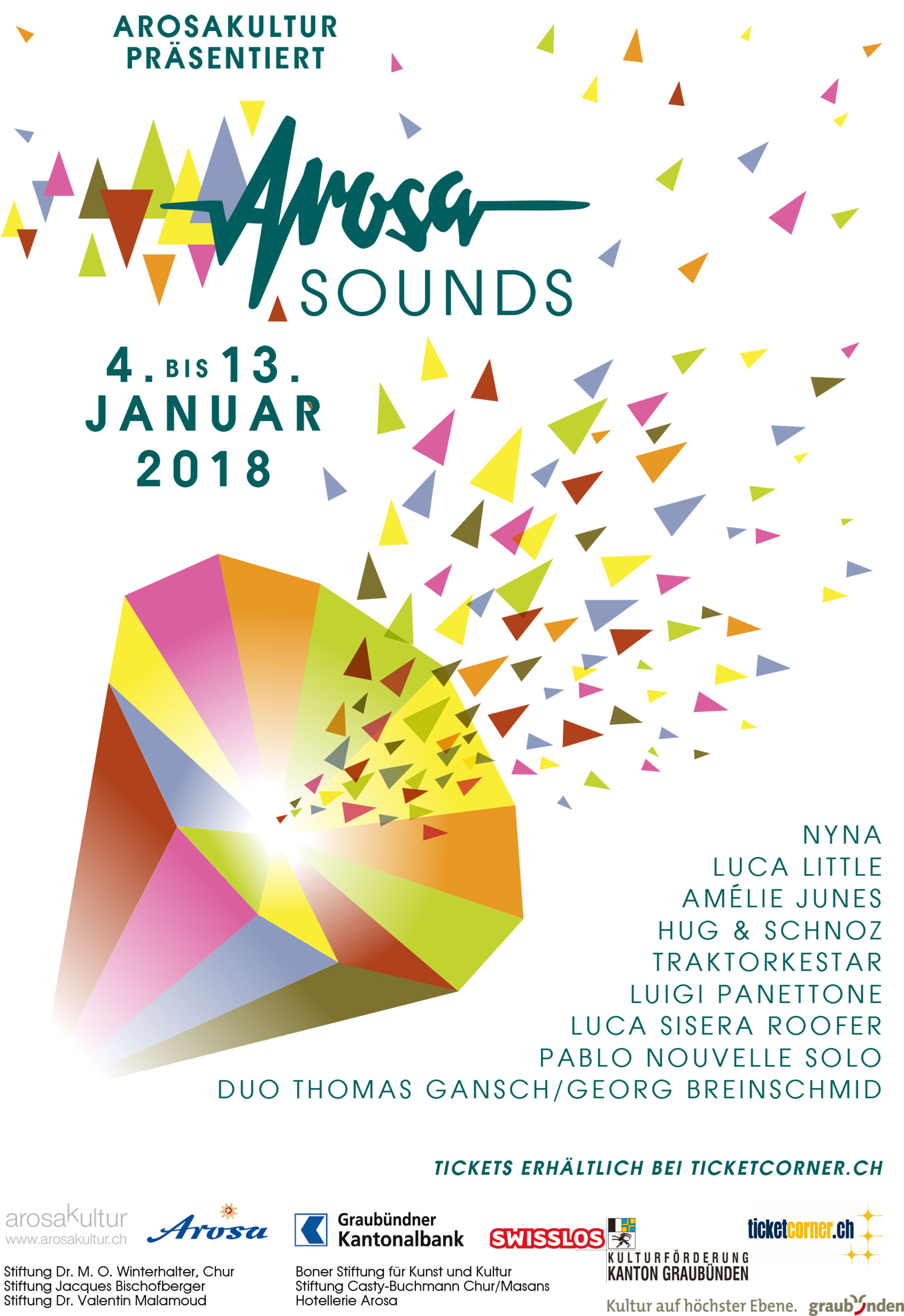Arosa Sounds Flyer 2018