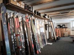 Skishop und Bikeshop im Hotel Provisorium13 Arosa
